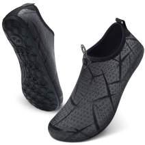 JIASUQI Summer Outdoor Beach Swim Aqua Water Shoes Socks for Women Men