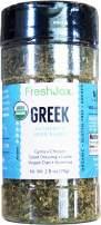 FreshJax Premium Gourmet Organic Spice Blends (Greek Seasoning: Organic Authentic Herb Blend)