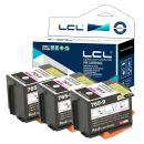 LCL Compatible Ink Cartridge Replacement for Pitney Bowes 765-9 DM300C DM400C DM425C-ML DM425C-MM DM450C DM475C 3C00 4C00 5C00 6C00 (Red 3-Pack)