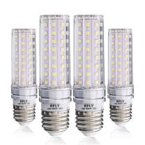 E26 LED Bulbs, 16W LED Candelabra Bulb 120 Watt Equivalent, 1400lm, E26 Medium Base Decorative Non-Dimmable LED Chandelier Bulbs, Warm White 3000K LED Corn Lamp, Pack of 4