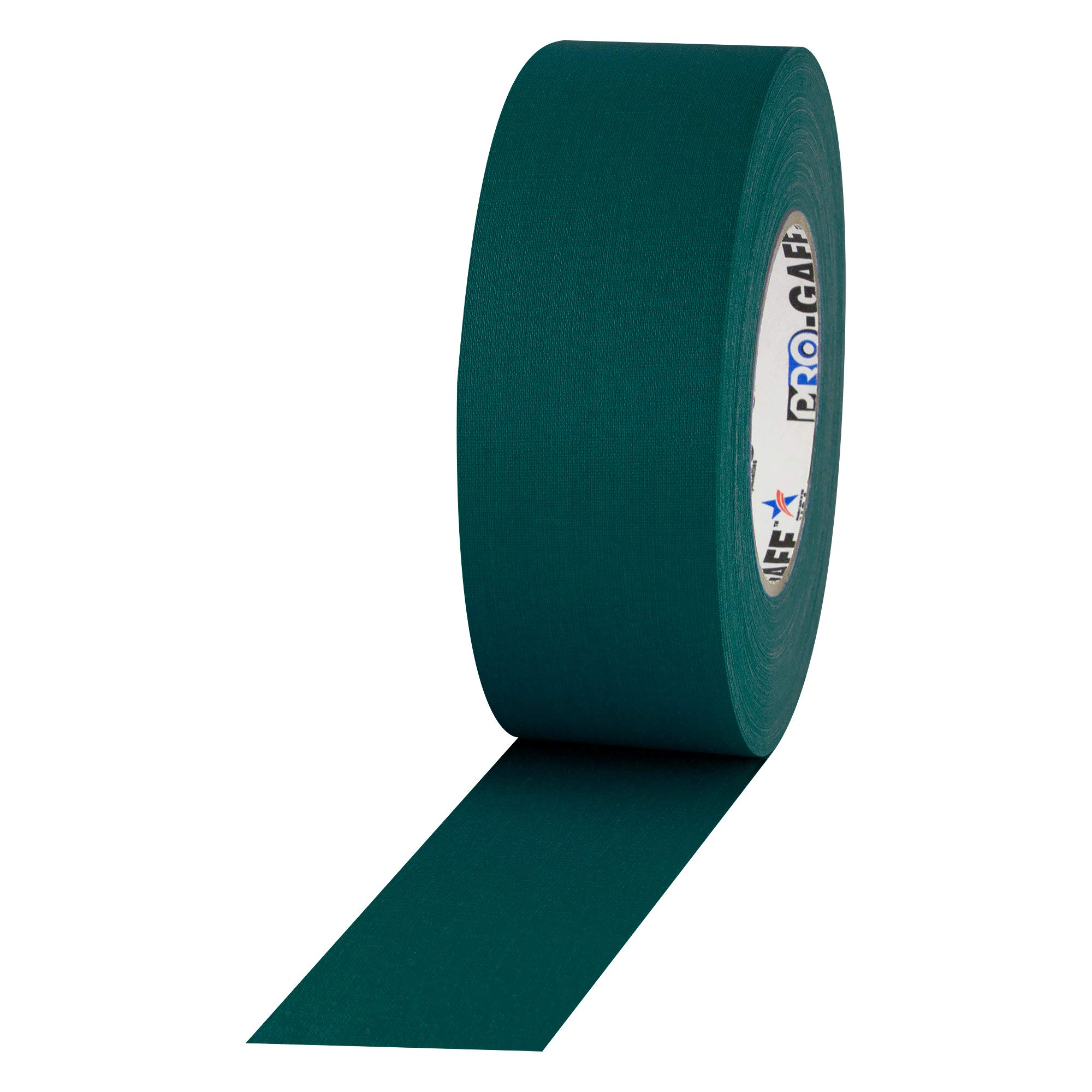 """ProTapes Pro Gaff Premium Matte Cloth Gaffer's Tape With Rubber Adhesive, 11 mils Thick, 55 yds Length, 2"""" Width, Teal (Pack of 1)"""