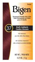 #37 Dark Auburn Bigen Permanent Powder - 6 Pack