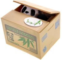 PowerTRC Cute Panda Box Coin Bank Piggy Bank | Toy Gifts | Hungry Panda | Stealing Coin Bank