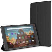 """JETech Case for Amazon Fire HD 10 Tablet 10.1"""" (7th / 9th Generation, 2017 Release / 2019 Release) Smart Cover with Auto Sleep/Wake, Black"""