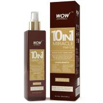 WOW Hair Oil - Reduce Hair Loss, Split Ends, Dandruff - Smooth, Thick Hair - Boost Hair Growth & Stronger Roots - Deep Clean For Healthy Scalp - All Hair Types, Adults & Children - 200 mL