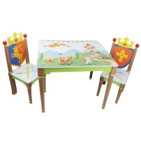Fantasy Fields - Knights & Dragons Table and 2 Chairs Set