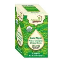 Adanim Bio Organic Lemon Verbena, Lemongrass and Orange Flowers Infusion Herbal Tea, 65 Gram