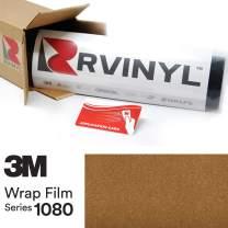 3M 1080 G241 Gloss Gold Metallic 5ft x 26ft W/Application Card Vinyl Vehicle Car Wrap Film Sheet Roll