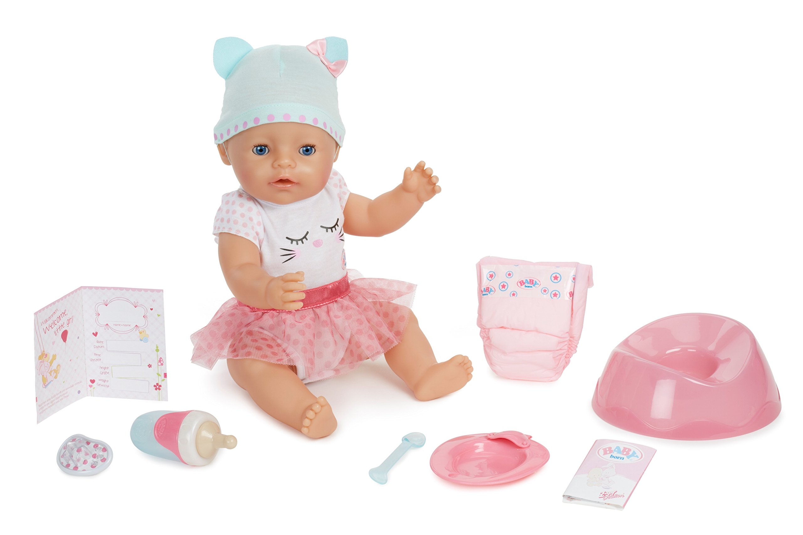 Baby Born Blue Eyes Interactive Doll