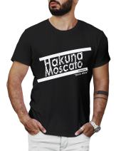 LeRage Hakuna Moscato Funny Wine Shirt Sayings Shirt Gifts Under 20 Wine Lovers Shirt Men's