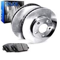 [REAR] eLine Replacement Brake Rotors Kit & Semi-Met Brake Pads