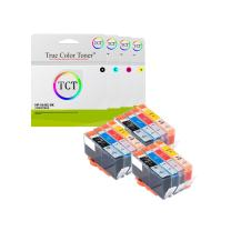 TCT Compatible Ink Cartridge Replacement for HP 564XL 546 XL Works with HP Photosmart 5511 5512 5514 5515 5520 5522 5524 5525 Printers (Black, Photo Black, Cyan, Magenta, Yellow) - 12 Pack