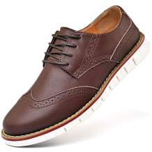 Mens Oxford Casual Classic Modern Dress Walking Shoes Business Lace Up Loafers
