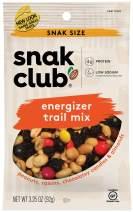 Snak Club Energizer Trail Mix, Gluten Free, 3.25-Ounces, 12-Pack