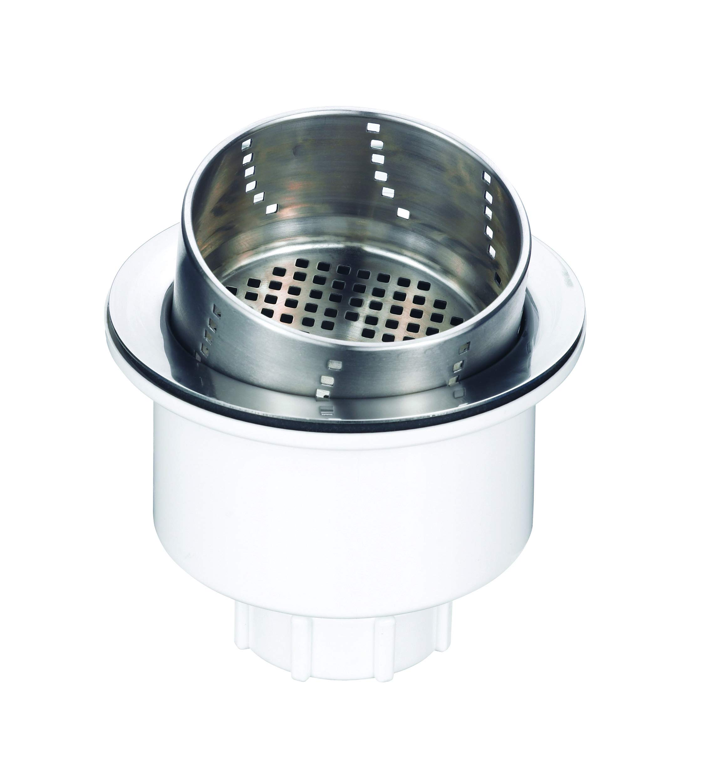 BLANCO, Stainless 441231 3-in-1 Kitchen Drain Basket Strainer