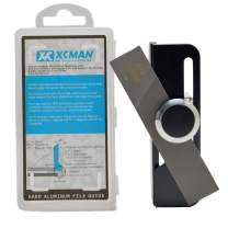 XCMAN Alpine Snowboard Freeride Hard Aluminum Racing Side Bevel Angle File Guide CNC Made with Clamp Device