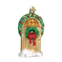 Old World Christmas Home Gifts Glass Blown Ornaments for Christmas Tree Welcome