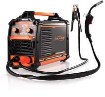 MIG Welder 160Amp Flux Core Welding Machine No Gas 110V Wire Automatic Feed Easy Welding for welder Beginners IGBT DC Inverter Welder Gasless