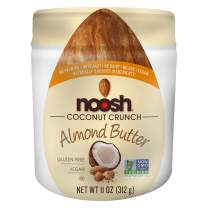 NOOSH Coconut Crunch Almond Butter 11 oz Jar - Vegan, Gluten Free, Kosher, NON GMO, No Peanut, No Soy, No Dairy, No Palm Oil - Naturally Sourced Ingredients and