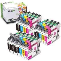Kingjet Compatible LC203XL Ink Cartridges Replacements for Brother MFC-J460DW; J480DW; J485DW; J680DW; J880DW; J4320DW; J4620DW; J5520DW; J5620DW; J5720DW Printers (5BK+3C+3M+3Y)