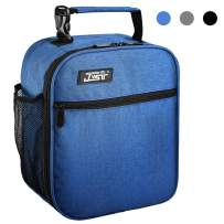 Lunch Bag Insulated Lunch Bag for Men Women Kids,Resuable Cooler Lunch Box Lunch Water - Resistant Leakproof Tote Bag for Office, School, Work, Picnic Hiking Beach (Blue-1)