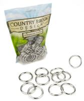 10 - Country Brook Design 1 1/4 Inch Welded Heavy O-Rings