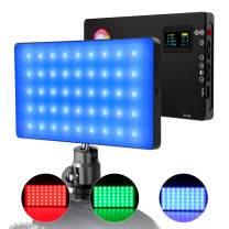 LED Camera Light RGB Shooting Light LituFoto R16 360° Full Color Adjustable 9 Lighting Effect OLED Display Screen with Built-in Lithium Battery Pocket Size Smartphone Light