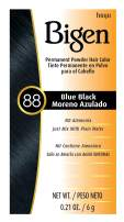 #88 Blue Black Bigen Permanent Powder - 6 Pack