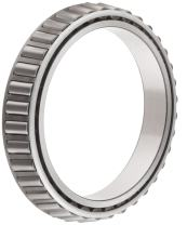 """Timken LM241149NW Tapered Roller Bearing, Single Cone, Standard Tolerance, Straight Bore, Keyway, Steel, Inch, 8.0000"""" ID, 1.8750"""" Width"""