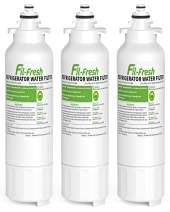 Fil-fresh LT800P Refrigerator Water Filter Replacement for LG ADQ73613401, LT800P, NSF Certified, Packs of 3