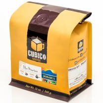 Jamaica Blue Mountain Coffee - Ground Coffee - Freshly Roasted Coffee - Cubico Coffee - 12 Ounce (Single Origen Jamaican Blue Mountain Coffee)