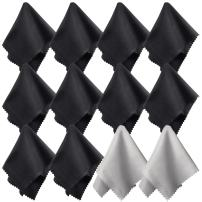 (12 Pack) Charm & Magic Microfiber Cleaning Cloths for All Type of Screens (12)