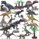 """Hely Cancy 21 Packs Dinosaur Toys for Boys and Girls 3 Years Old & Up, 4"""" to 9"""" Realistic Educational Dino Figures Sets with Movable Claws for Birthday, Party Favor"""