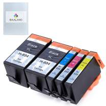 BAALAND Compatible Ink Cartridge Replacement for HP 934 935 XL to use with OfficeJet Pro 6815 6812 6830 6230 6835 6820 6220 Printer (2 Black, 1 Cyan, 1 Magenta, 1 Yellow)