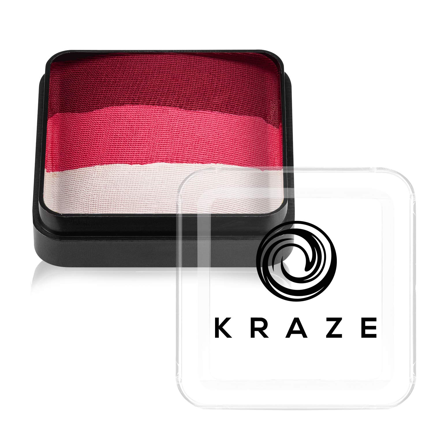 Kraze FX Dome Cake - Bloodberry (25 gm), Professional Face and Body Painting Split Cake, Hypoallergenic, Safe & Non-Toxic, Child Friendly, Ideal for Fairs, Carnivals, Party & Halloween