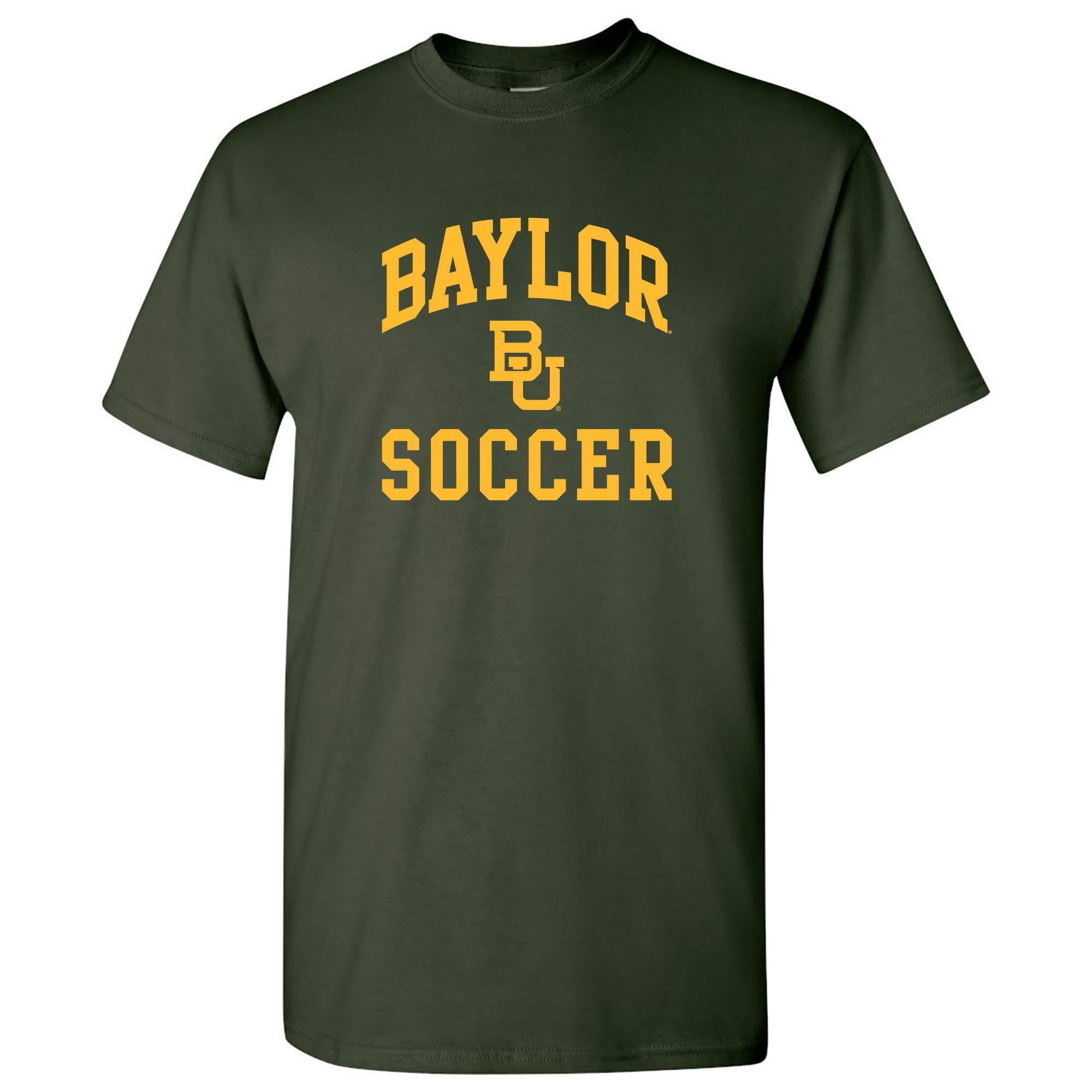 NCAA Arch Logo Soccer, Team Color T Shirt, College, University