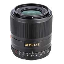 Auto-Focus Prime Lens VILTROX AF 23mm F1.4 Full Frame Portrait Lens for Sony E-Mount Camera A7 A7II A7III A7R A7RII A7RIII A7RIV A7S A7SII A9 A9II A6000 A6100 A6300 A6400 A6500 A6600