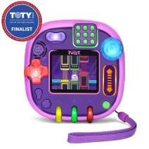 LeapFrog RockIt Twist Handheld Learning Game System, Purple, Great Gift For Kids, Toddlers, Toy for Boys and Girls, Ages 4, 5, 6, 7, 8