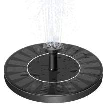 MADETEC Solar Powered Water Fountain Pump, Submersible Outdoor Water Fountain Panel Kit for Bird Bath,Small Pond,Pool ,Garden and Lawn (1.4W)