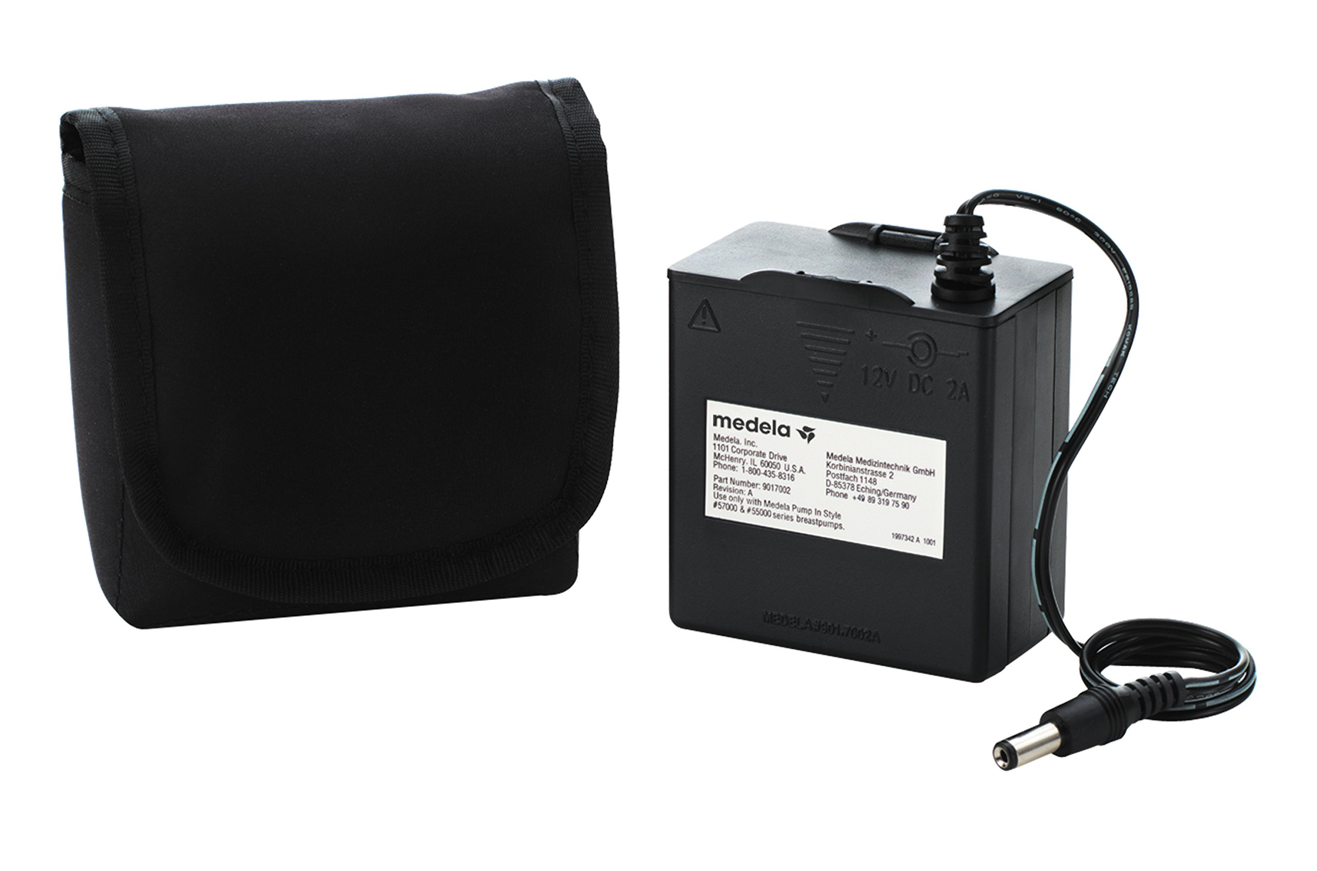 Medela Pump in Style Battery Pack, Portable Unit for 9 Volt Pump in Style Advanced Breast Pump Uses AA Batteries, Authentic Medela Spare Parts
