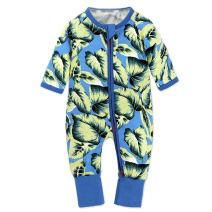Unisex Baby Girl Boys One Piece Zipper Jumpsuit Snug Fit Cotton Footless Pajamas