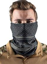 LOSRLY Printed Seamless Face Bandanas for Outdoors, Festivals, Sports, Women Men Face Scarf