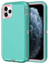 CHEERINGARY Case for iPhone 11 Pro Max Case Protective Shockproof Heavy Duty Anti Scratch Case iPhone 11 Pro Max Case for Men Women Dust Proof Antislip Case for iPhone 11 Pro Max 6.5 inches Mint Green