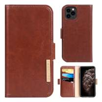 BENTOBEN iPhone 11 Pro Max Case, iPhone 11 Pro Max Wallet Case, Premium PU Leather Case with Card Holder ID Slot, Brown