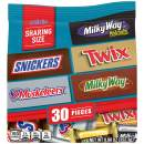 MARS Chocolate Favorites (SNICKERS, TWIX, 3 MUSKETEERS & MILKY WAY) Minis Size Candy Bars Assorted Variety Mix, 8.9 Ounce Bag (Packaging may vary)