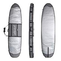 """Abahub Premium SUP Travel Bag, Foam Padded Stand-up Paddleboard Cover Case, Paddle Board Carrying Bags for Outdoor 8'0, 8'6, 9'0, 9'6, 10'0, 10'6, 11"""" 0, 11'6, 12'0"""