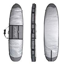 "Abahub Premium SUP Travel Bag, Foam Padded Stand-up Paddleboard Cover Case, Paddle Board Carrying Bags for Outdoor 8'0, 8'6, 9'0, 9'6, 10'0, 10'6, 11"" 0, 11'6, 12'0"