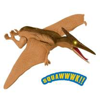 Liberty Imports Dino Planet Battery Operated Dinosaur Toy with Light Up Eyes and Sounds (Pterodactyl)