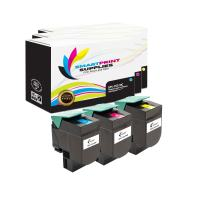 Smart Print Supplies Compatible CS310 70C1HC0 70C1HM0 70C1HY0 High Yield Toner Cartridge Replacement for Lexmark CS310 CS410 CS510 Printers (Cyan, Magenta, Yellow) - 3 Pack