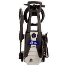 AR Blue Clean, AR142S 1,500 PSI Electric Pressure Washer, Nozzles, Spray Gun, Wand, Detergent Bottle & Hose